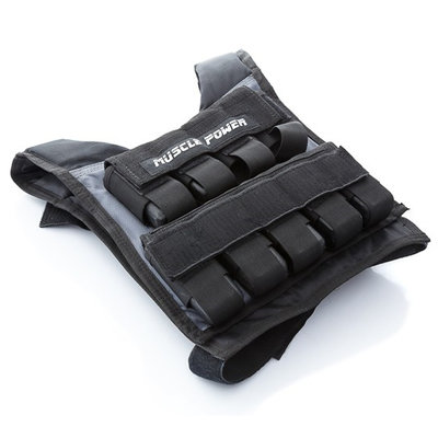 Weight Vest 20KG | Muscle Power®