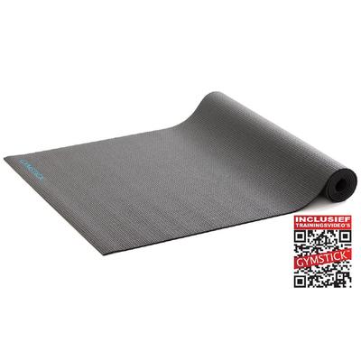 Active Training Mat Zwart 4MM | Gymstick®
